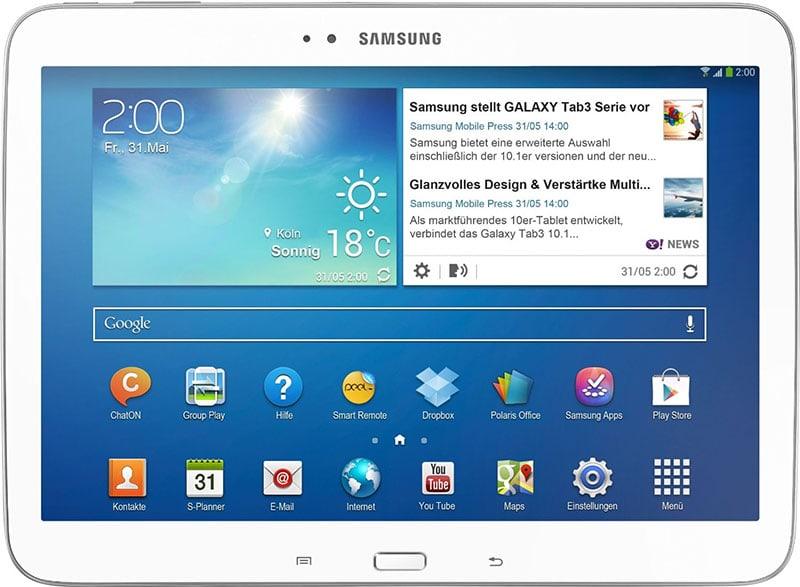 Tablet Samsung Galaxy Tab 3 GT-P5210