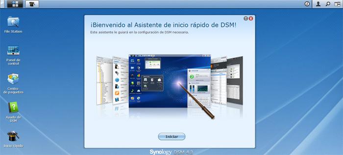 Configuracion servidor synology NAS DS213J 1