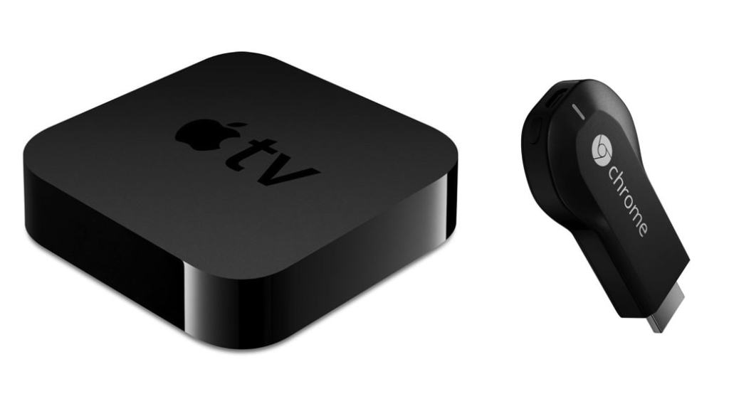 El mejor reproductor de streaming (2015): apple tv vs google chromecast