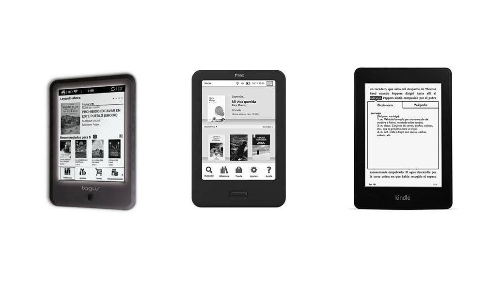 Fnac Touch Light Vs Tagus Lux Vs Kindle Paperwhite