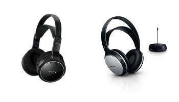 ¿Cuáles son los mejores auriculares inalámbricos por calidad-precio en 2014? Sony MDRRF810RK vs Philips SHC5100