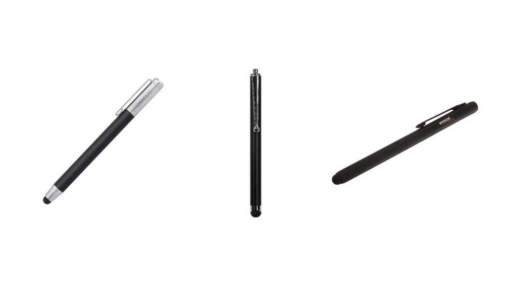 Comparativa bolígrafos digitales: Wacom CS-100 vs Targus Stylus vs AmazonBasics Executive