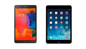 Samsung Galaxy Tab Pro 8.4 vs iPad mini Retina: Comparativa tablets