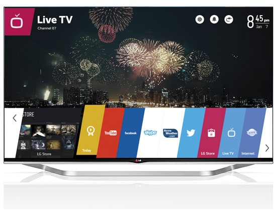 LG smart TV televisor