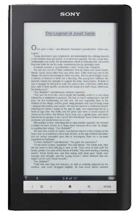 Sony Daily Edition PRS-900 ereader