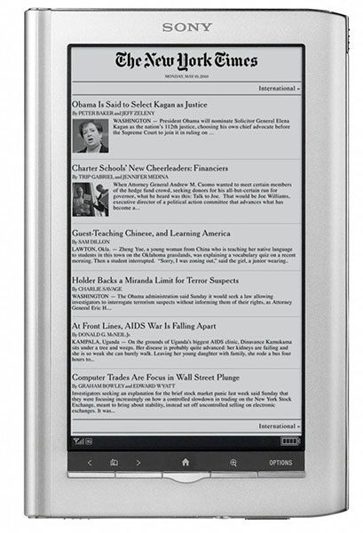 Sony Daily Edition PRS-950 ereader