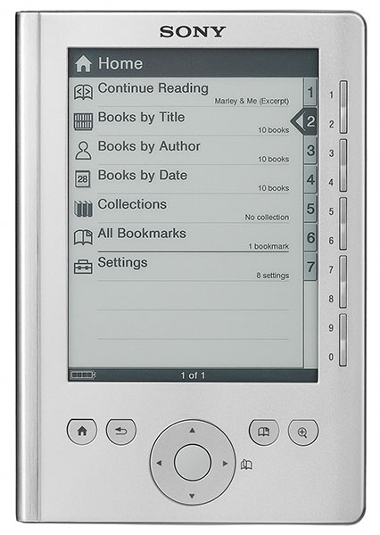 Sony Pocket Edition PRS-300 ereader