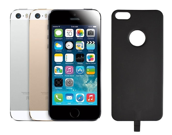carcasa qi iphone 5