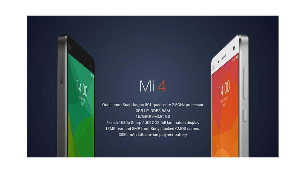 Xiaomi presenta en el nuevo Xiaomi Mi 4, el smartphone más rápido del mundo
