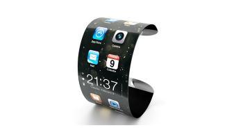 Representación del iWatch de Apple