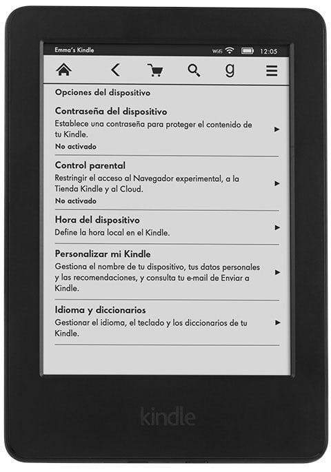 Kindle tactil eReader 2014