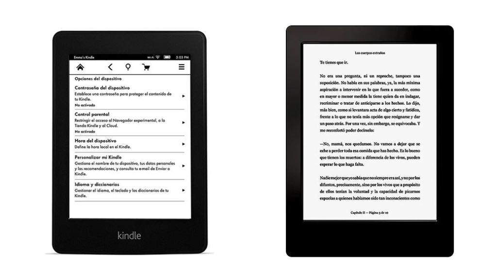 Kindle Paperwhite vs Kobo Aura H2O: comparativa eReaders