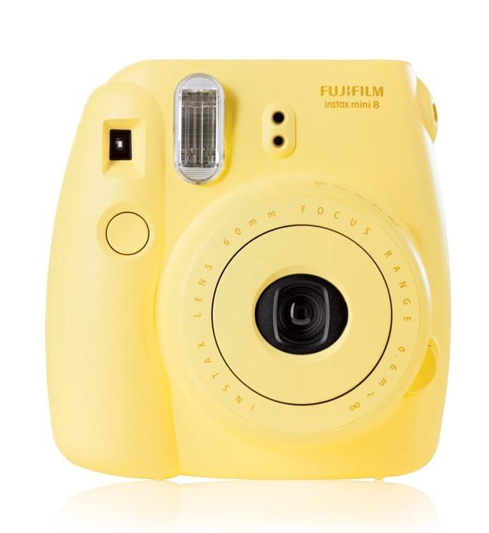 Fujifilm Instax Mini 8 - Cámara analógica hipster para obtener fotos instantáneas