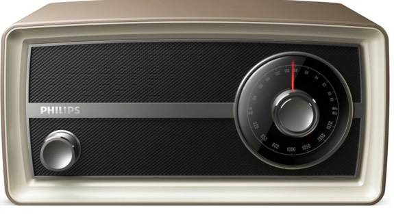 Philips OR2000M FM/MW Original radio mini - Despertador