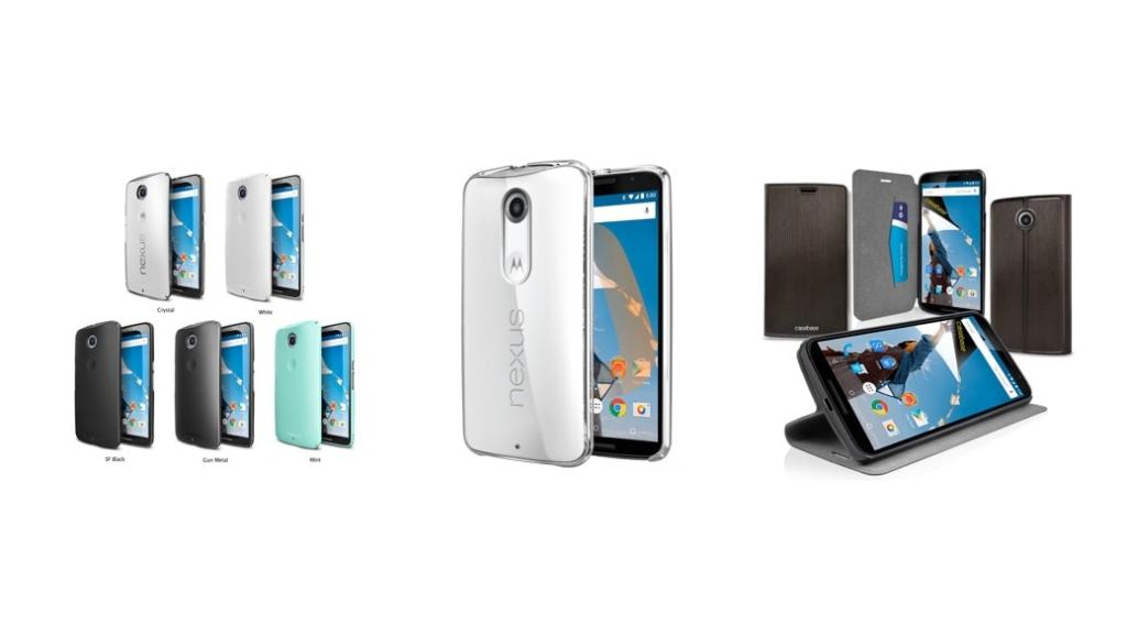 Las 3 mejores carcasas y fundas para el Google Nexus 6