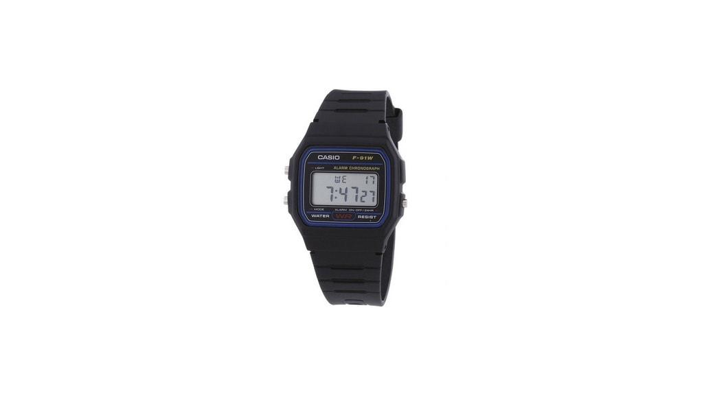 146692f20ff3 Reloj Casio 2900 F-91 - Casio Classic  La correa negra más retro está de  vuelta