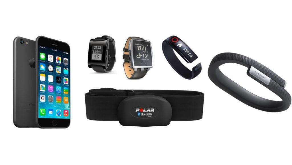 5 wearables que podrás usar con tu iPhone (smartwatch, seguimiento actividad, sensores de ritmo cardiaco)