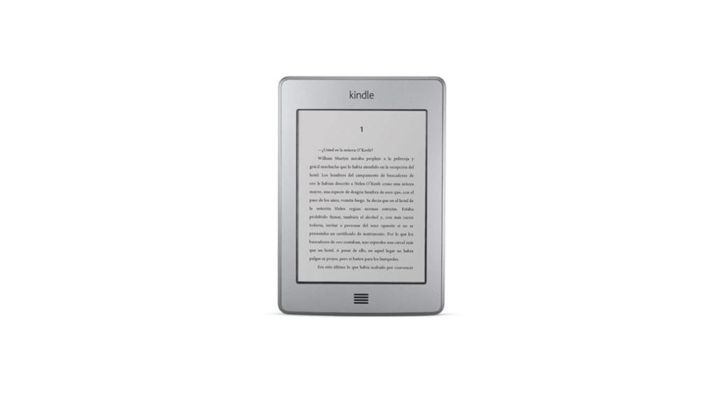 Por tiempo limitado podemos comprar el eReader Kindle Touch por 49 euros