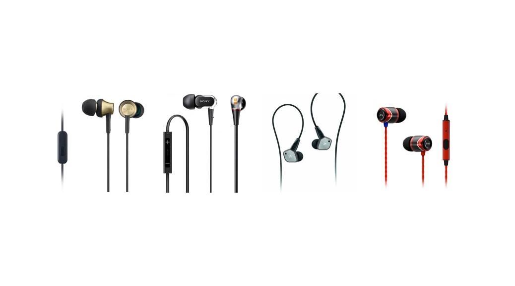 Los 4 mejores auriculares in-ear 2014 por menos de 50, 70, 100 y 300 euros