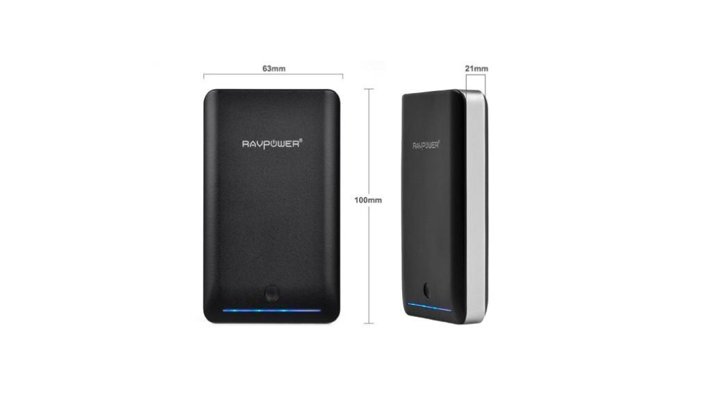Baterías externas RAVPower para tablets y smartphones: opinión y análisis