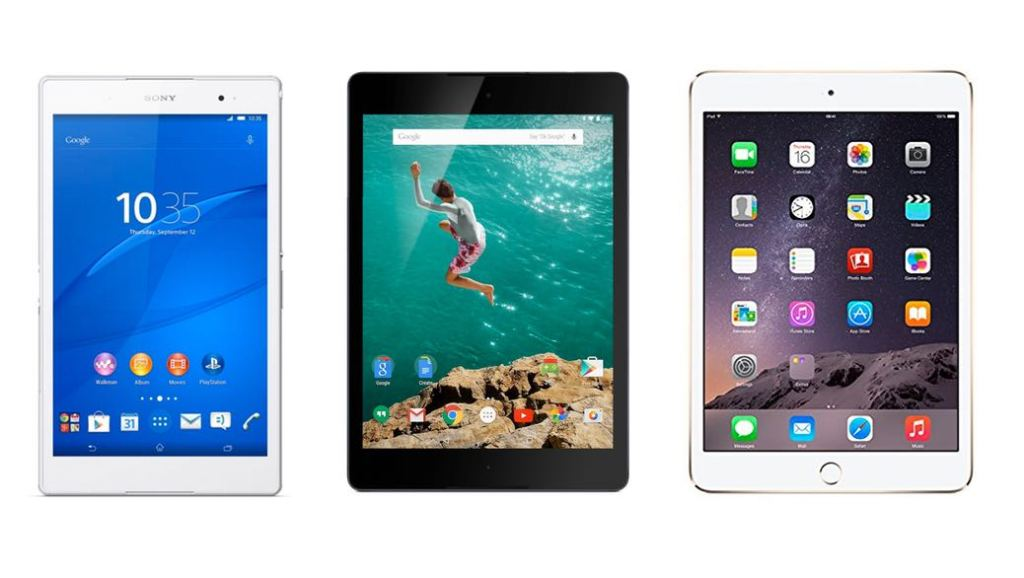 Los 3 mejores tablets de 2014