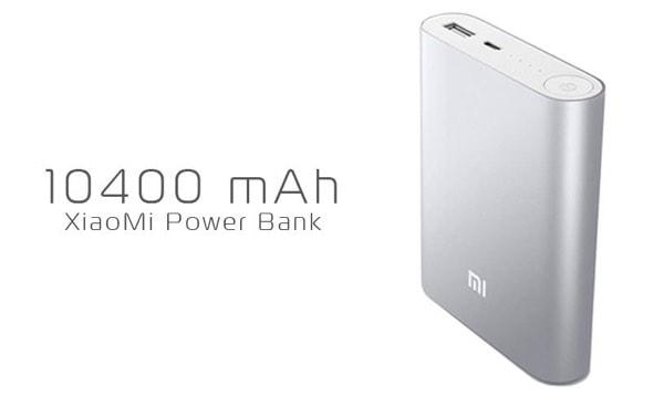 Xiaomi PowerBank de 10.400 mAh.