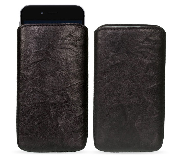 Funda de Cuero Auténtico MediaDevil Artisanpouch para Apple iPhone 6