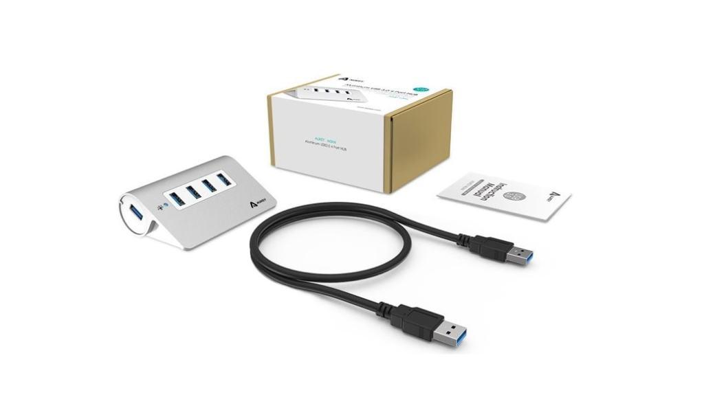 Aukey Hub USB 3.0 de 4 puertos: opinión y análisis