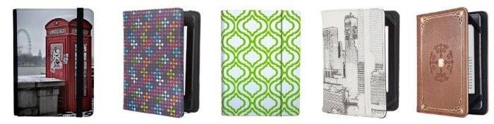 Fundas de moda para el eReader Kindle, Kindle Paperwhite y Kindle touch.