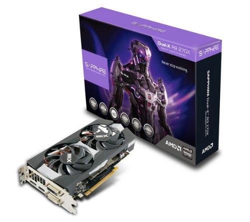 AMD Radeon R9 270X tarjeta grafica