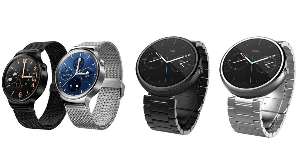Huawei Watch vs. Moto 360 (comparativa): dos relojes Android Wear con estilo