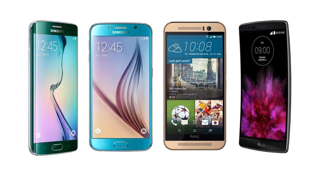 4 Smartphones Android De Gama Alta Que Podemos Encontrar