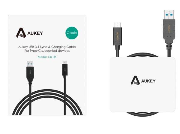 Aukey Micro USB 3.1 Type C