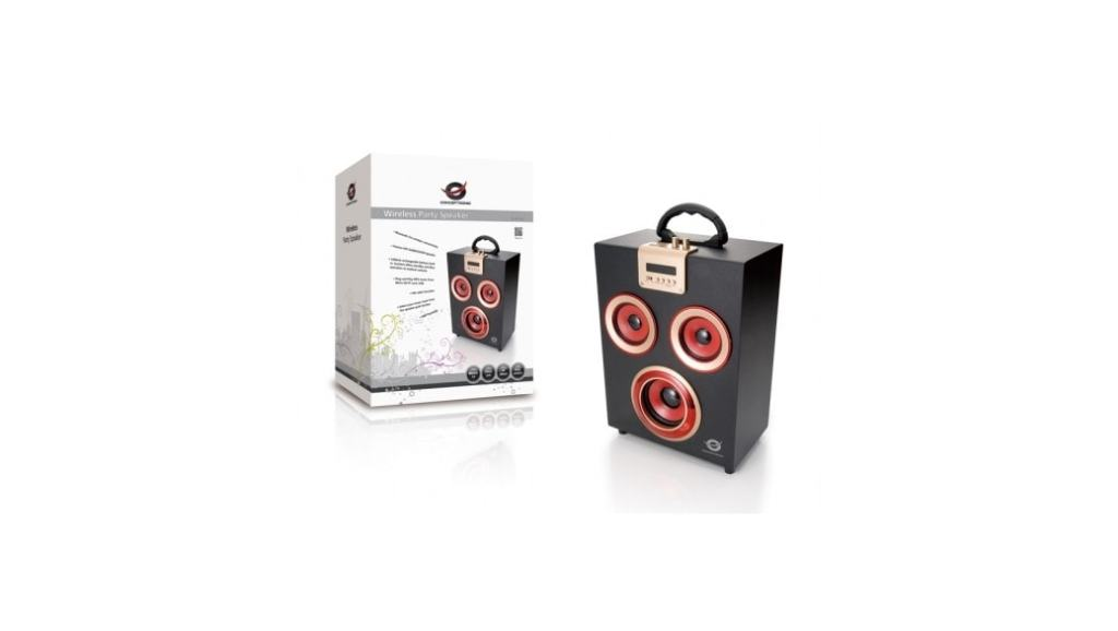 Altavoz Conceptronic Wireless Party: llevate la fiesta contigo a todas partes