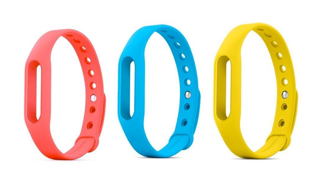 Xiaomi Mi Band: recambio de la pulsera en varios colores