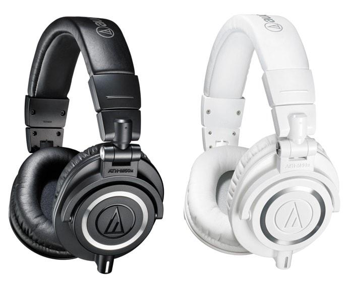 Los mejores auriculares profesionales para DJ por calidad-precio en 2015: Audio-Technica ATH-M50x