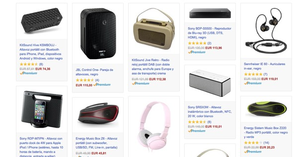 Semana del audio en Amazon España