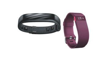 Jawbone UP3 vs Fitbit Charge HR: los mejores monitores de actividad en 2015