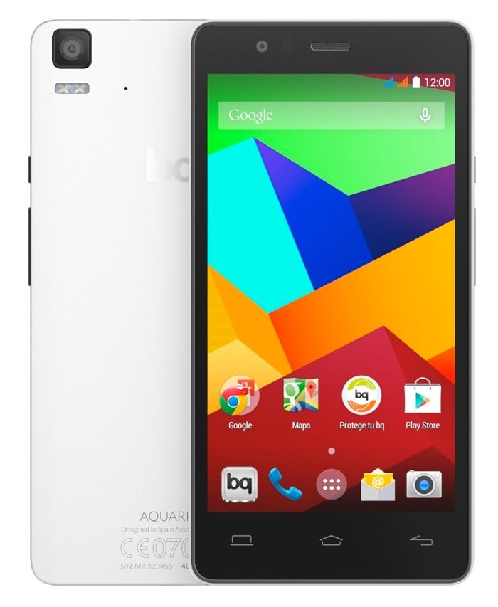 Los mejores smartphones Android por calidad precio de 2015: bq Aquaris E5