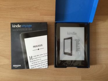 kindle voyage unpacking