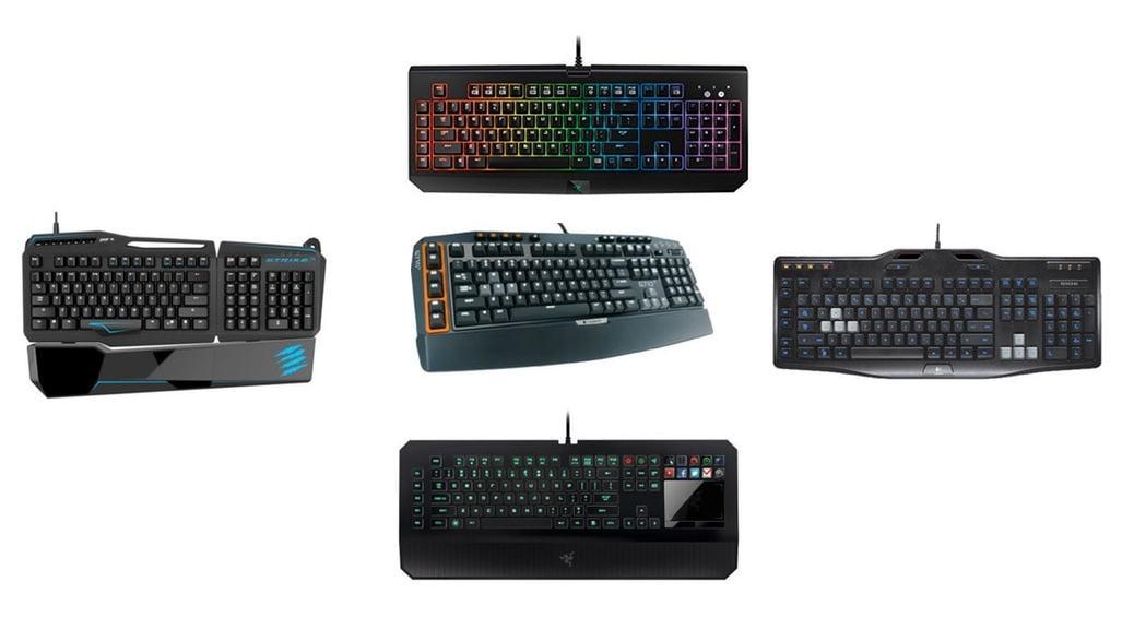 Los 5 mejores teclados para gaming