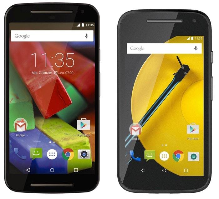 Los 8 mejores smartphones Android de 2015 y principios de 2016 Moto G (2015) y Moto E (2015)