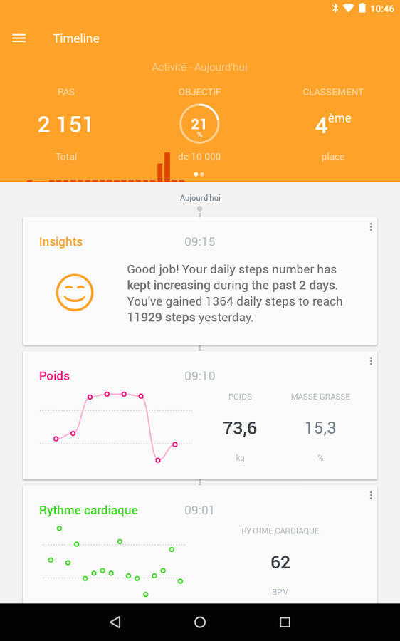 Withings Pulse O2 - Monitor de actividad APP