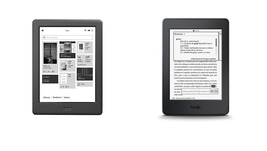 Amazon Kindle Paperwhite 3 (2015) vs Kobo Glo HD: ¿Cuál es el mejor eReader?