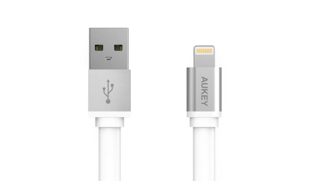 Cables lightning de Apple certificados MFi de la marca Aukey: CB-D15 y CB-D20 – Opinión