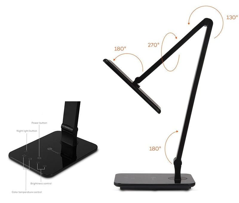 Lámpara de escritorio LED TaoTronics TT-DL09 - Opinión