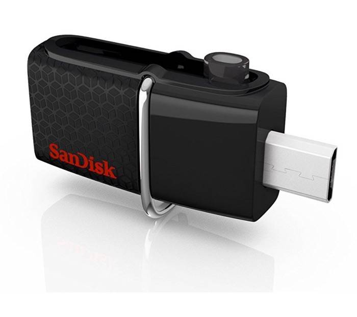 Memoria flash USB SanDisk Ultra Dual de 64 GB con USB 3.0 y hasta 150 MB/s