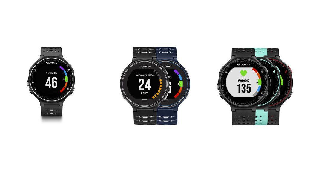 Garmin Forerunner 630, 230 y 235: los 3 nuevos relojes GPS para running de Garmin