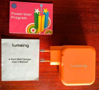 Lumsing – Cargador USB portátil de pared con 4 puertos – Opinión