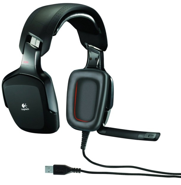 Logitech G35 - Auriculares Gaming de diadema cerrados